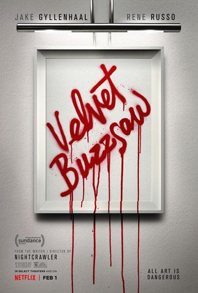 Velvet Buzzsaw avec Jake Gyllenhaal, Billy Magnussen...
