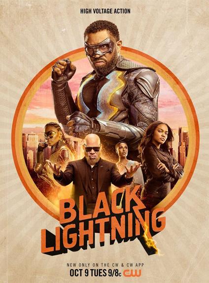 BLACK LIGHTNING - Renouvelée