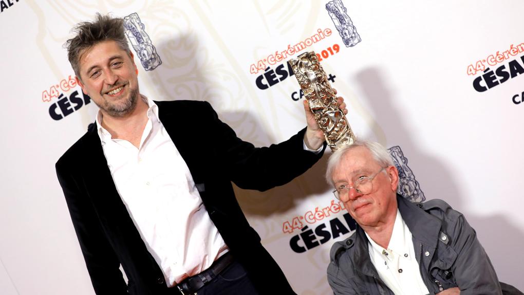Yves Hinant et Jean Libon, César du meilleur film documentaire pour Ni juge ni soumise