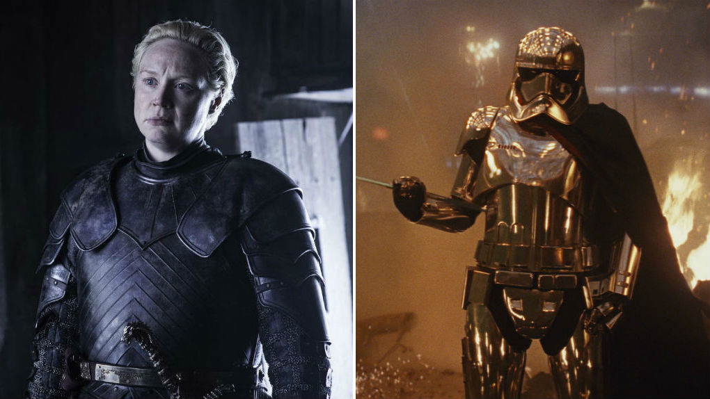 Gwendoline Christie (Brienne de Tarth / Capitaine Phasma)