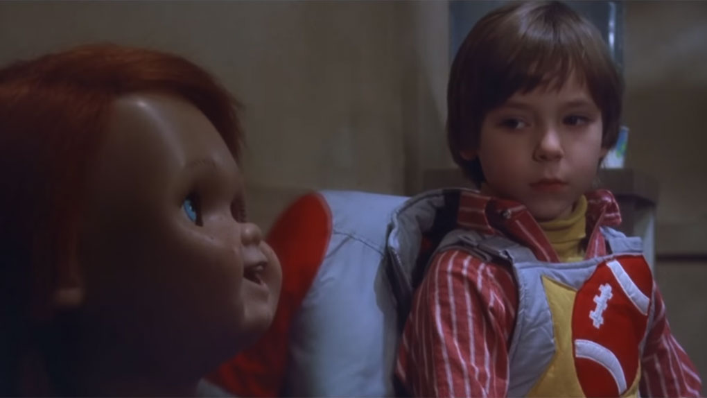 On entendait Chucky sur le plateau