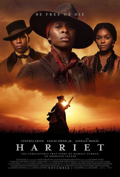 Harriet avec Cynthia Erivo, Leslie Odom Jr, Joe Alwyn...