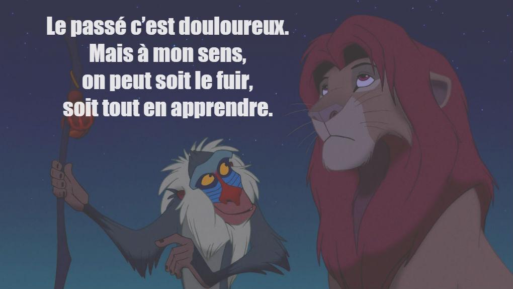 """Rafiki dans """"Le Roi Lion""""..."""