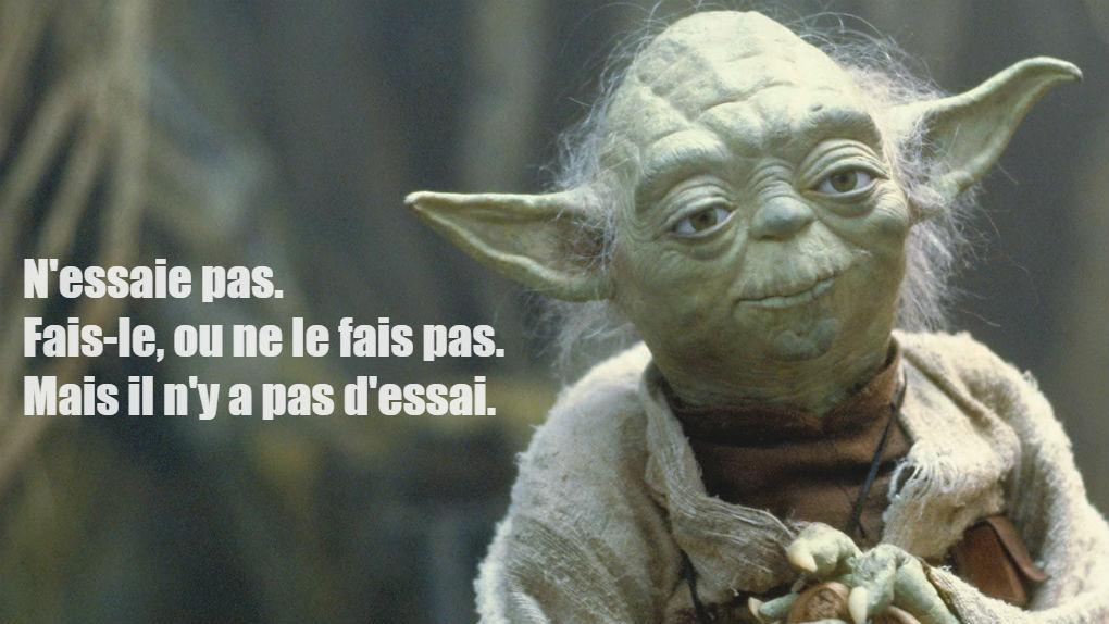 """Yoda, dans """"L'Empire contre-attaque""""..."""