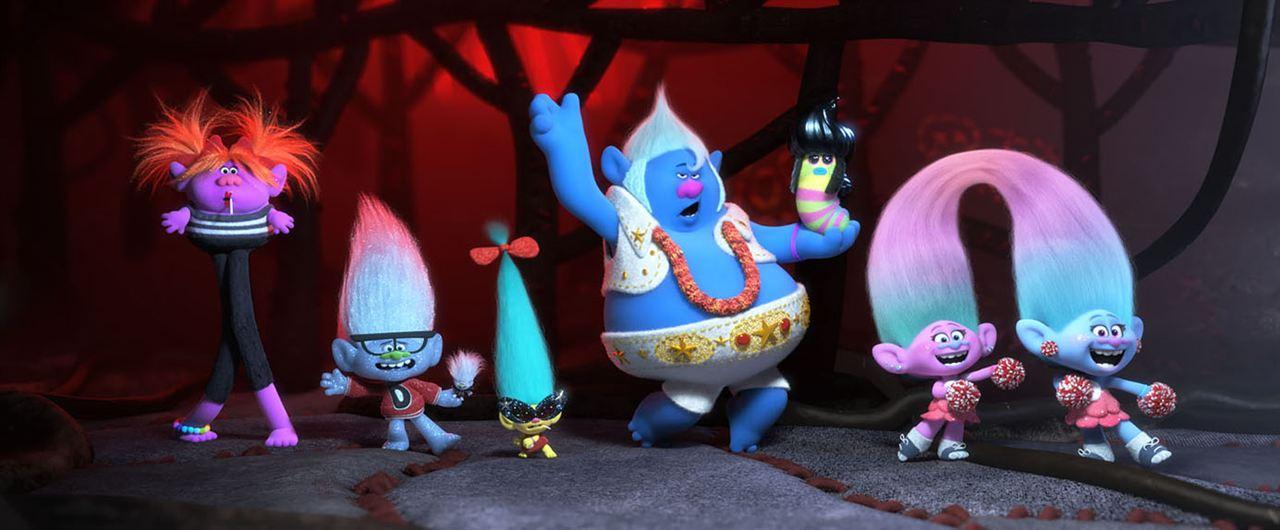 Les Trolls 2 avec Justin Timberlake, Anna Kendrick, Kelly Clarkson