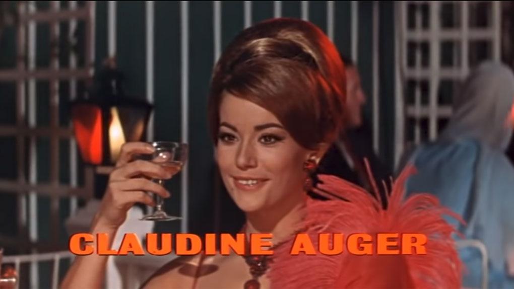 """Claudine Auger (1941-2019), alias Domino dans """"Opération Tonnerre"""""""