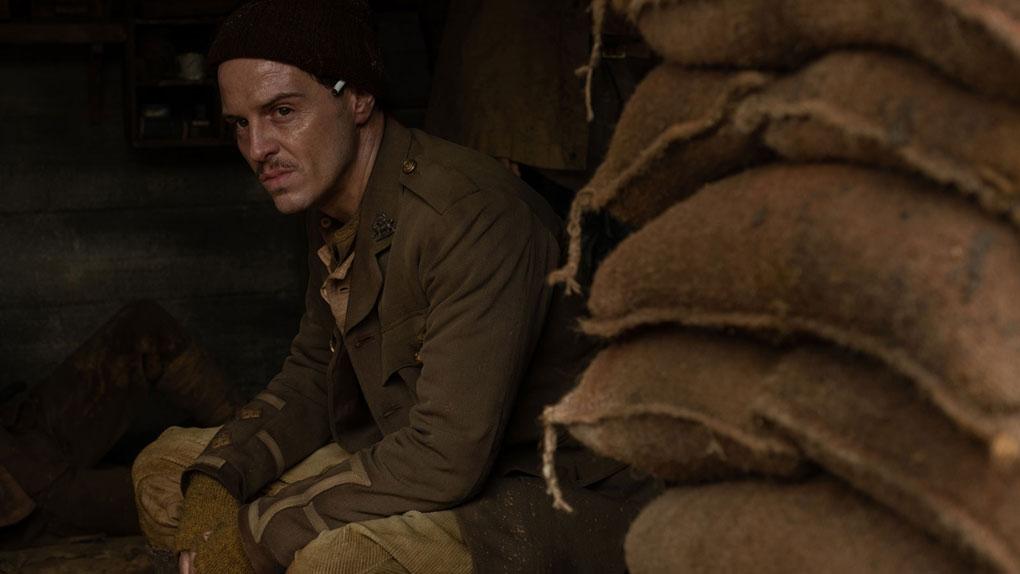 Andrew Scott (le lieutenant Leslie)