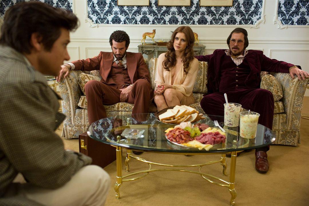 American Bluff : Photo Amy Adams, Bradley Cooper, Christian Bale, Jeremy Renner