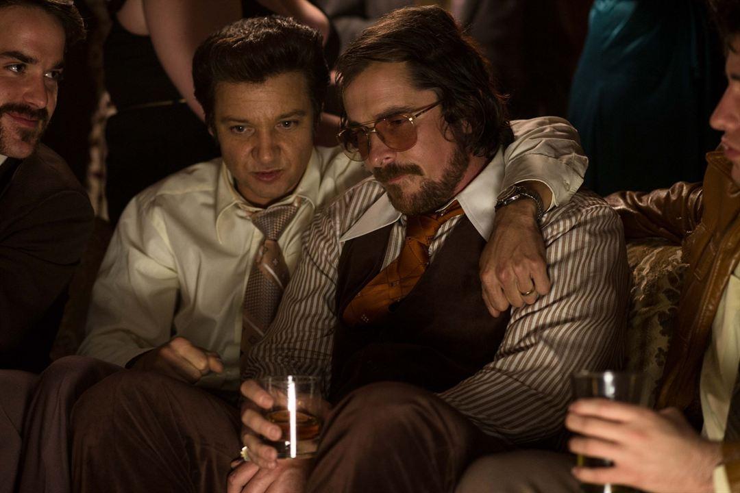 American Bluff : Photo Christian Bale, Jeremy Renner
