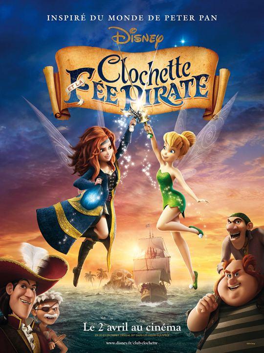 Clochette et la fée pirate : Affiche