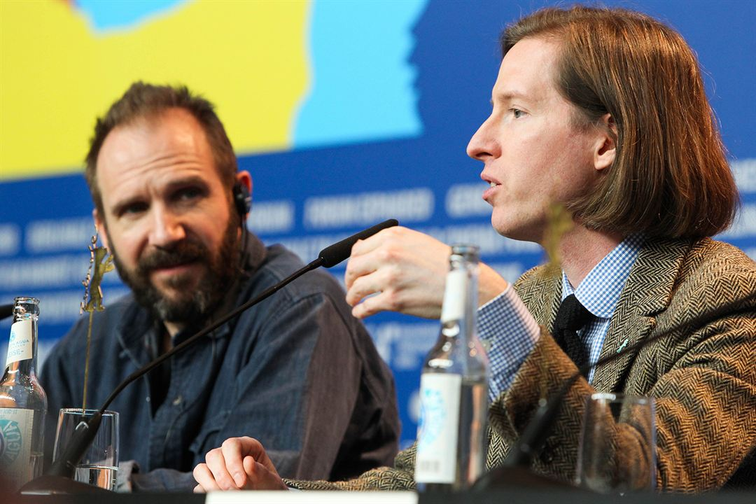 The Grand Budapest Hotel : Photo promotionnelle Ralph Fiennes, Wes Anderson