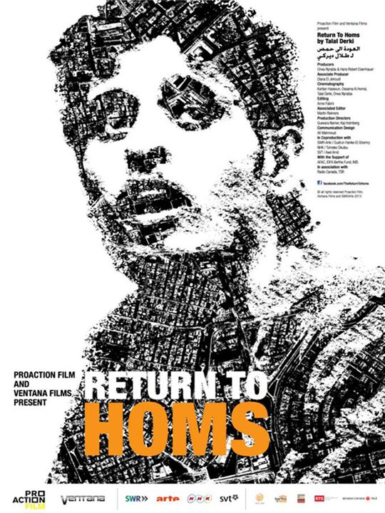 The Return to Homs : Affiche