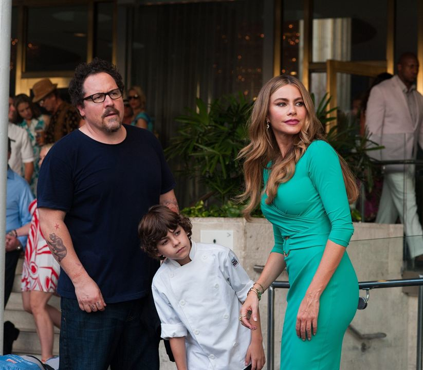 #Chef : Photo Emjay Anthony, Jon Favreau, Sofia Vergara