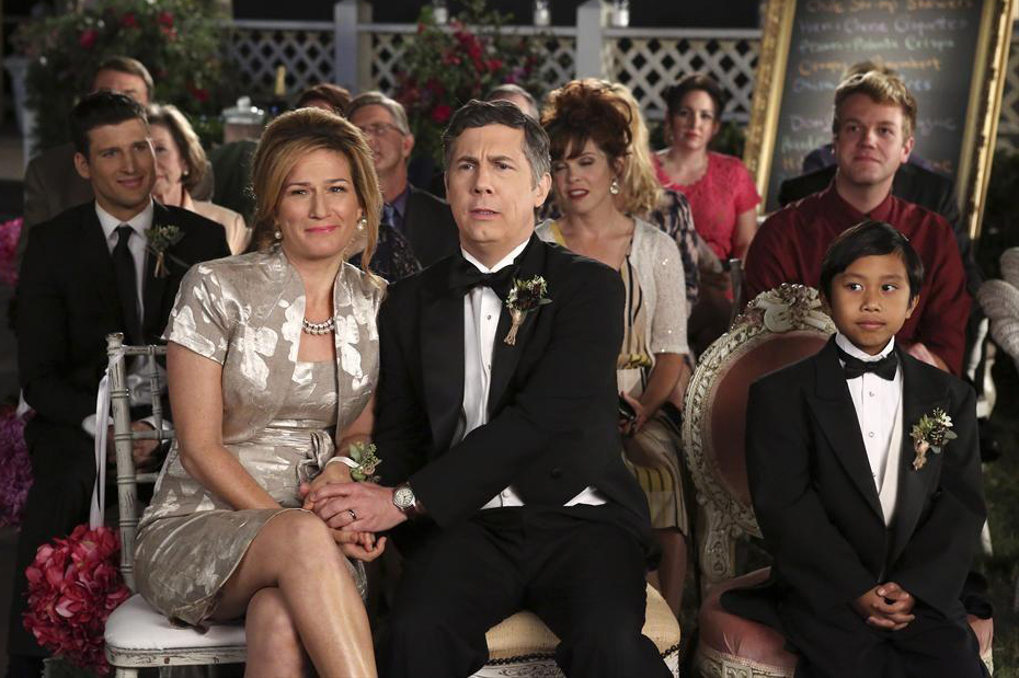 Photo Ana Gasteyer, Bryson Barretto, Chris Parnell, Parker Young