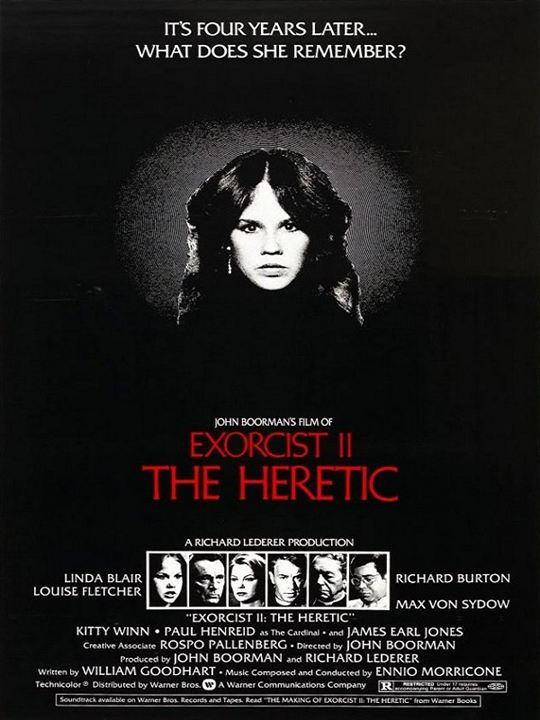 L'Exorciste 2 - l'hérétique : Affiche