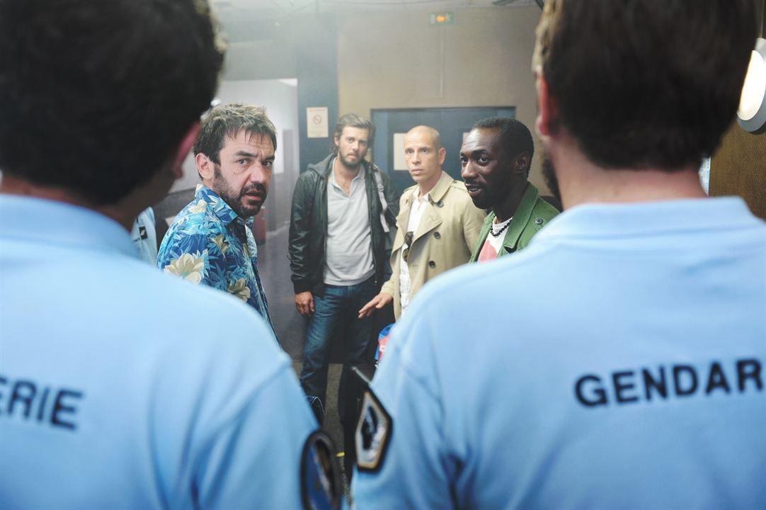 Les Francis : Photo Cyril Gueï, Lannick Gautry, Medi Sadoun, Thomas VDB