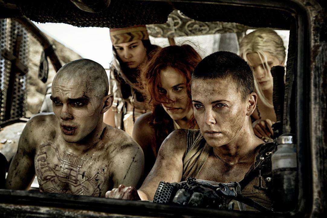 Mad Max: Fury Road : Photo Charlize Theron, Nicholas Hoult, Riley Keough