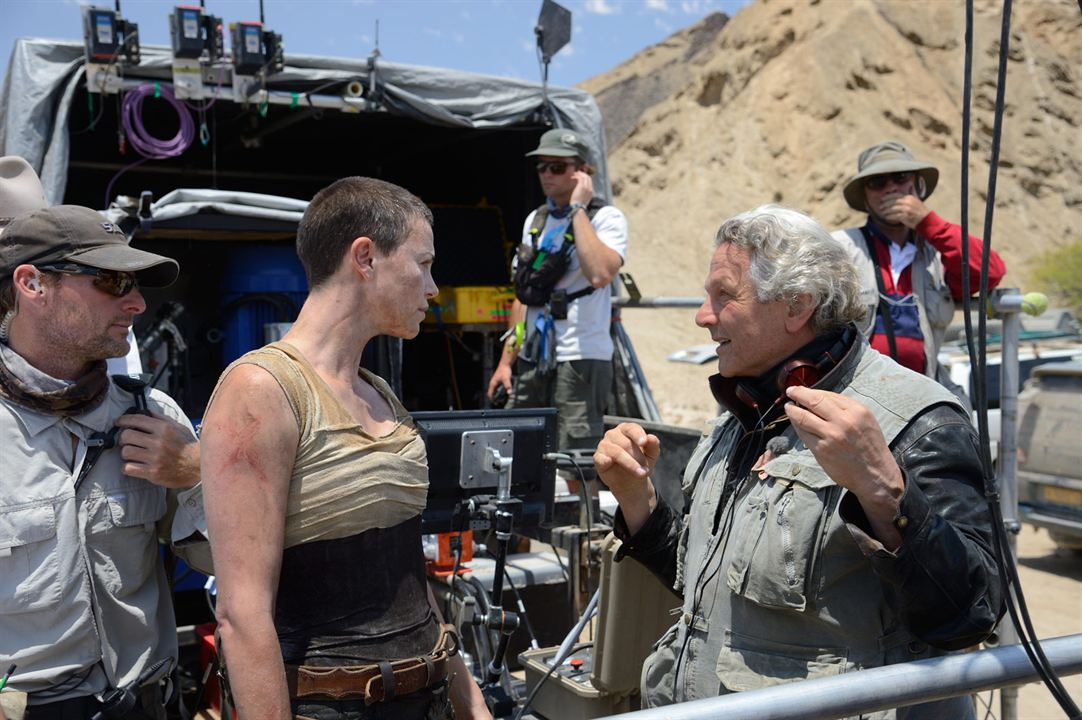 Mad Max: Fury Road : Photo Charlize Theron, George Miller