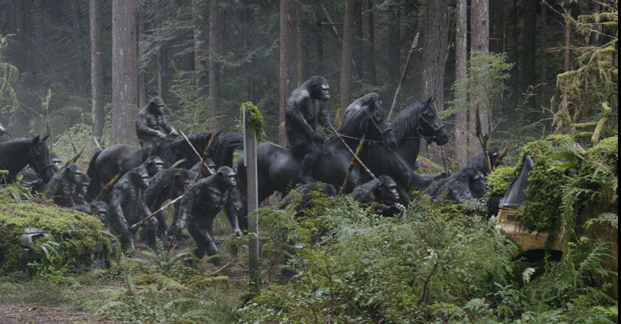 La Planète des singes : l'affrontement : Photo