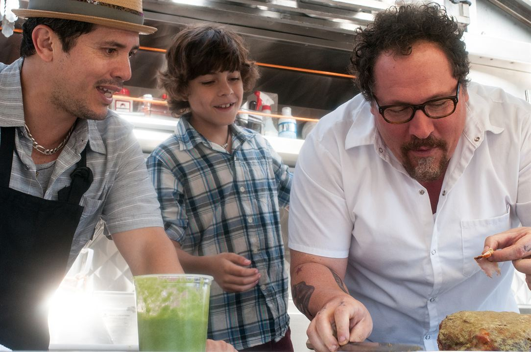 #Chef : Photo Emjay Anthony, John Leguizamo, Jon Favreau