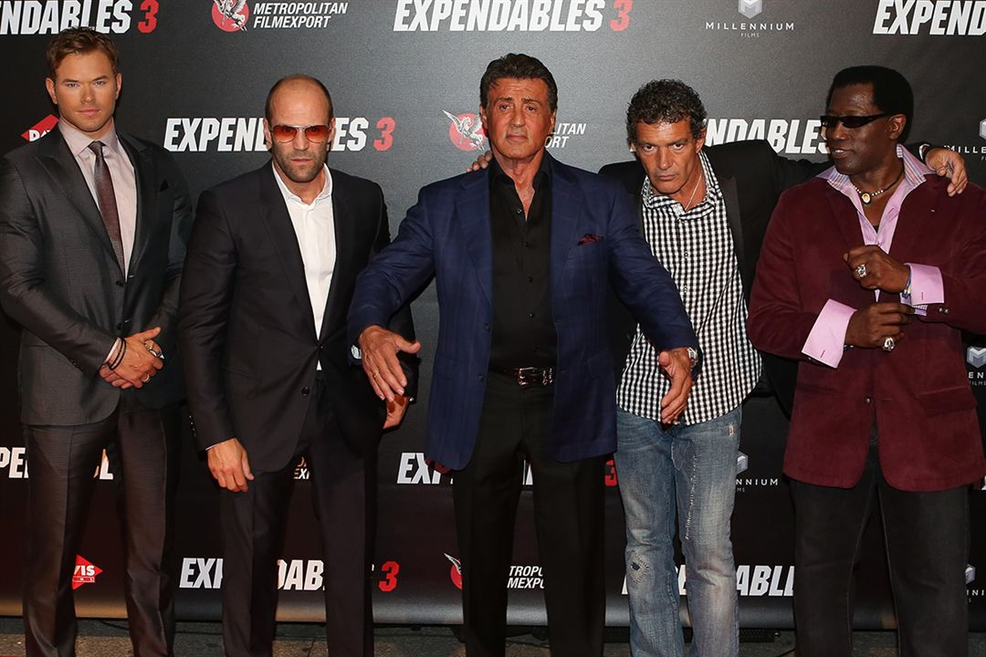 Expendables 3 : Photo promotionnelle Antonio Banderas, Wesley Snipes