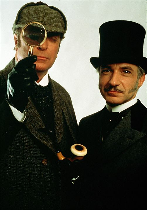 Elementaire, mon cher... Lock Holmes : Photo Ben Kingsley, Michael Caine