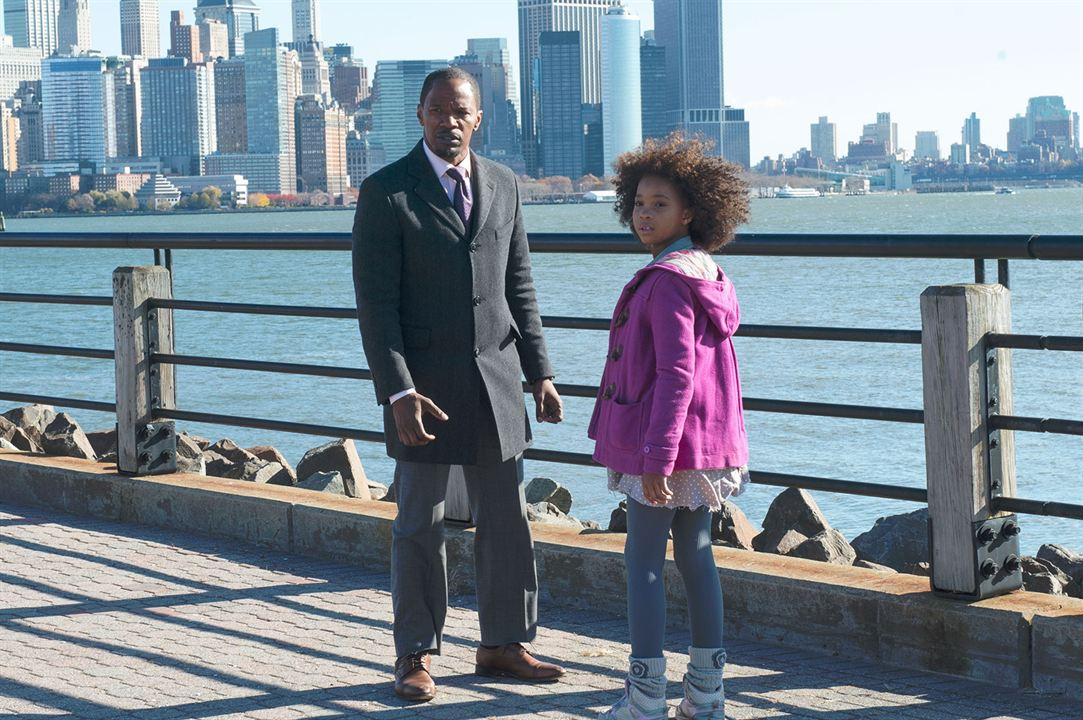 Annie : Photo Jamie Foxx, Quvenzhané Wallis