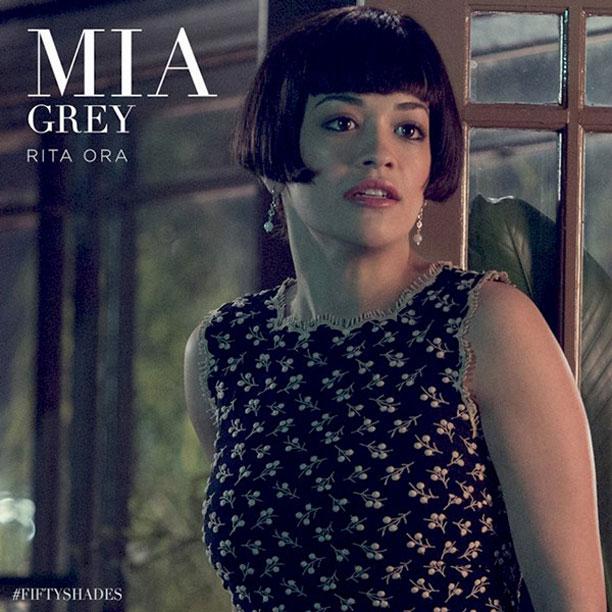 Cinquante Nuances de Grey : Photo Rita Ora
