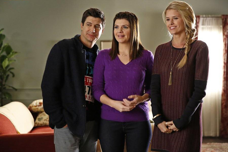 Photo Casey Wilson, Ken Marino, Sarah Wright
