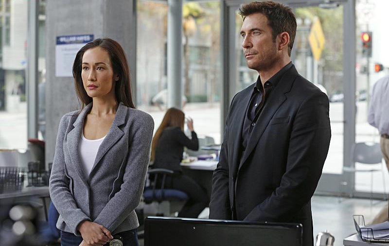 Photo Dylan McDermott, Maggie Q