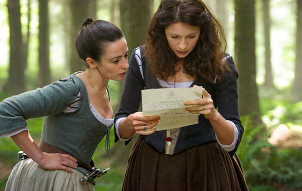 Photo Caitriona Balfe, Laura Donnelly