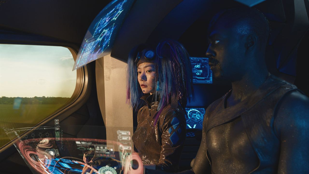Jupiter : Le destin de l'Univers : Photo David Ajala, Doona Bae