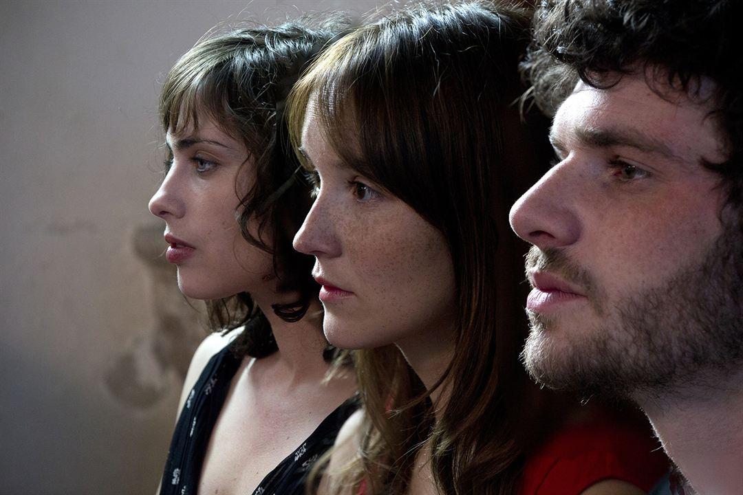 A trois on y va : Photo Anaïs Demoustier, Félix Moati, Sophie Verbeeck