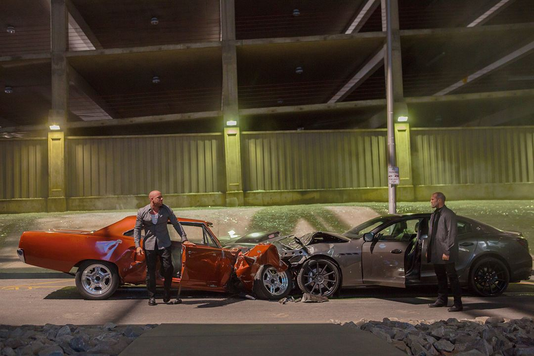 Fast & Furious 7 : Photo Jason Statham, Vin Diesel