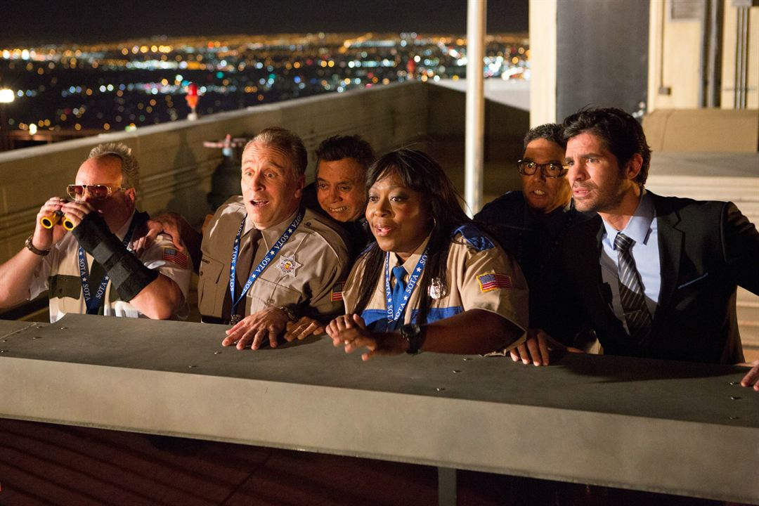 Paul Blart: Mall Cop 2 : Photo Eduardo Verastegui, Gary Valentine, Loni Love, Nicholas Turturro, Shelly Desai