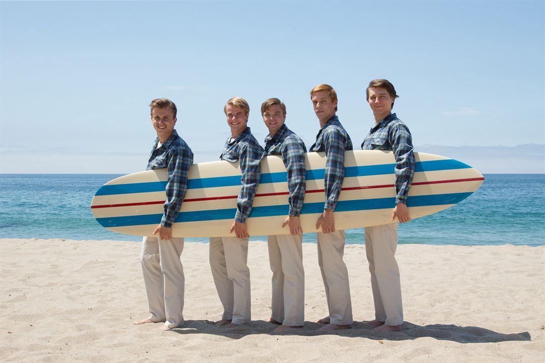 Love & Mercy, la véritable histoire de Brian Wilson des Beach Boys : Photo Brett Davern, Graham Rogers, Jake Abel, Kenny Wormald, Paul Dano