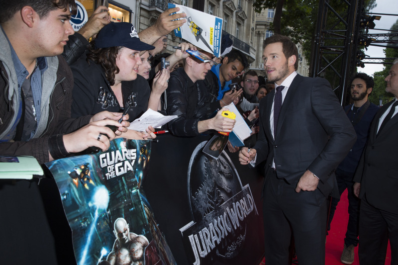 Jurassic World : Photo promotionnelle Chris Pratt