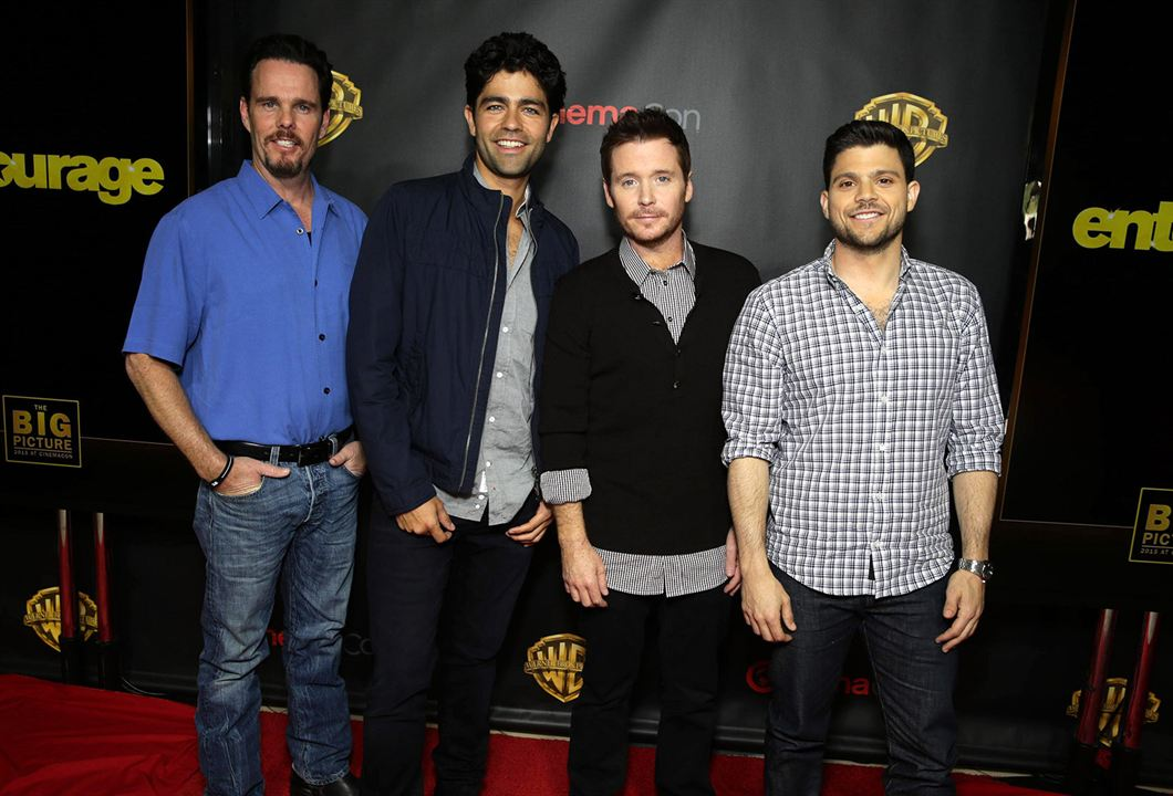 Entourage : Photo promotionnelle Adrian Grenier, Jerry Ferrara, Kevin Connolly, Kevin Dillon