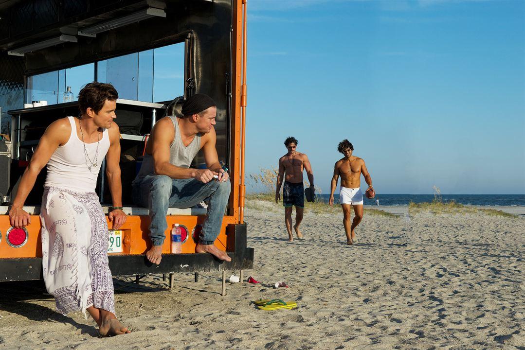 Magic Mike XXL : Photo Adam Rodriguez, Channing Tatum, Joe Manganiello, Matt Bomer