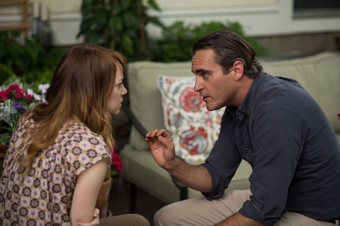 L'Homme irrationnel : Photo Emma Stone, Joaquin Phoenix