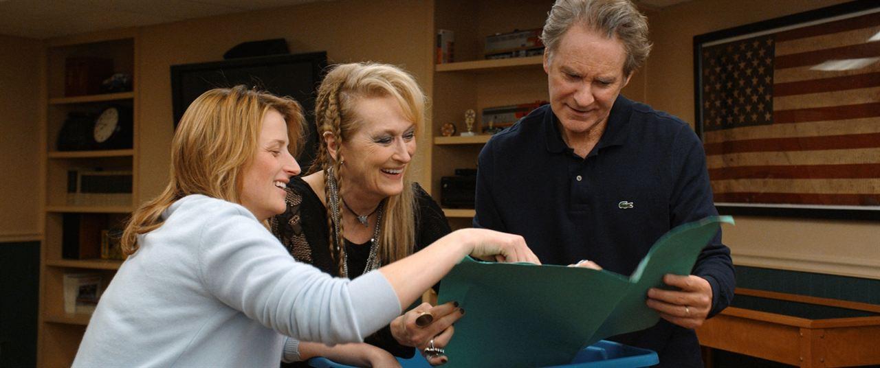 Ricki and the Flash : Photo Kevin Kline, Mamie Gummer, Meryl Streep