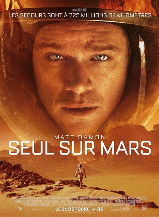 Seul sur Mars : Affiche