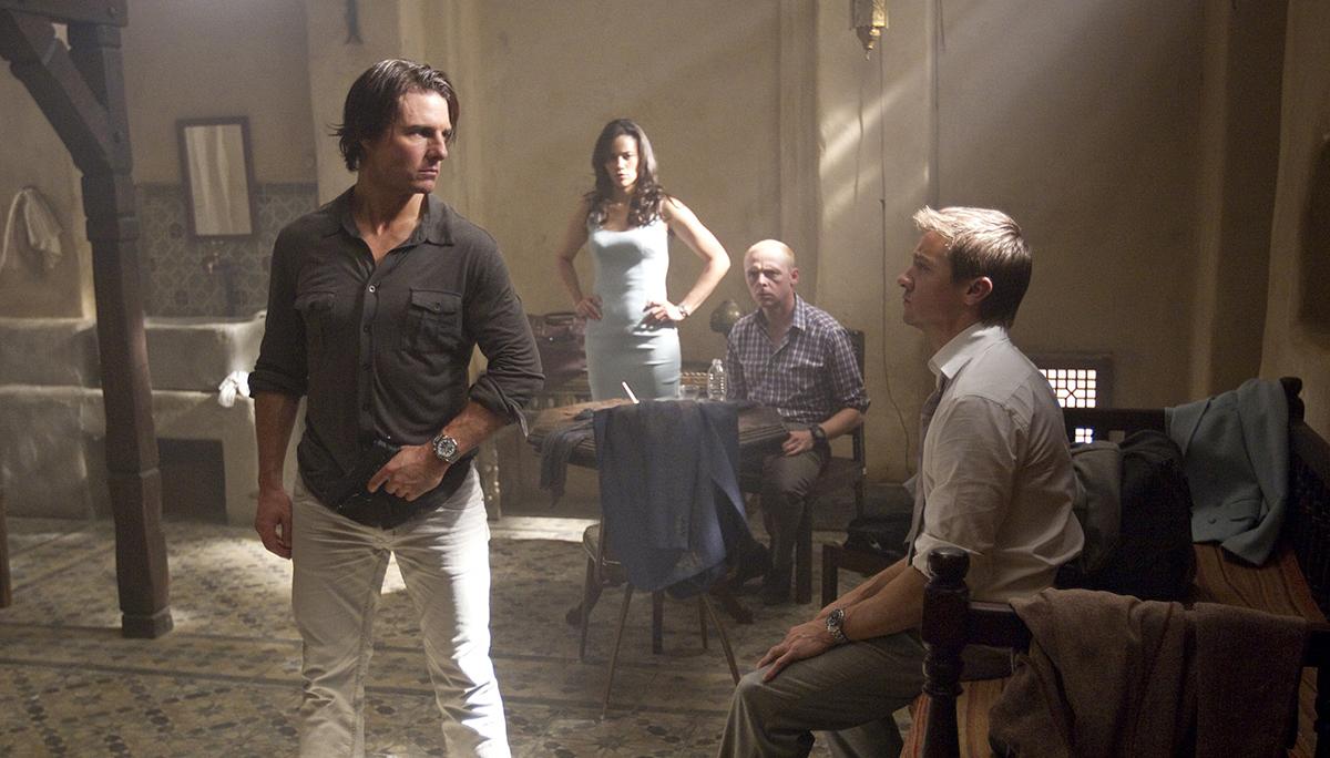 Mission : Impossible - Protocole fantôme : Photo Jeremy Renner, Simon Pegg
