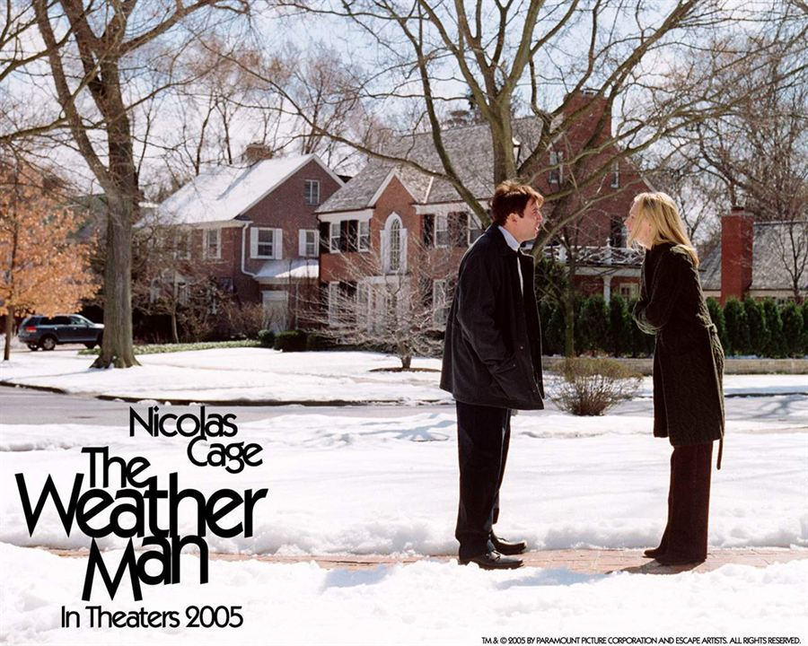 The Weather Man : Photo Hope Davis, Nicolas Cage