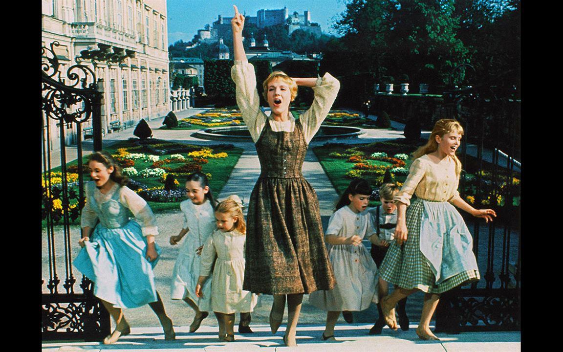La Mélodie du bonheur : Photo Debbie Turner, Duane Chase, Julie Andrews, Kym Karath