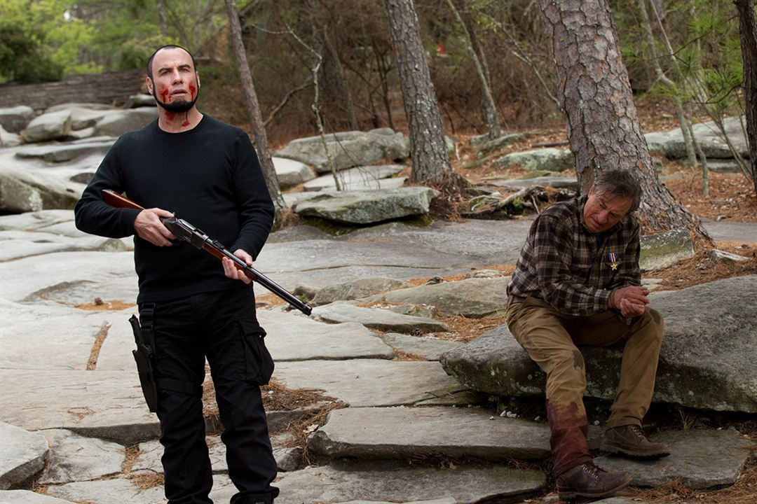 Face à face : Photo John Travolta, Robert De Niro