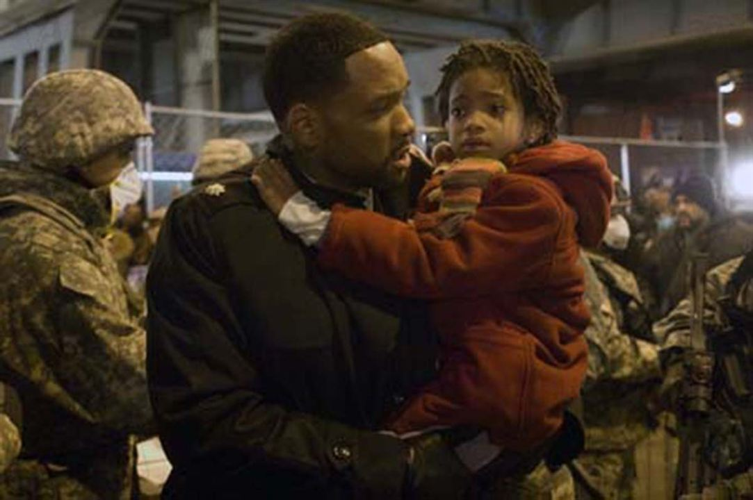 Je suis une légende : Photo Will Smith, Willow Smith