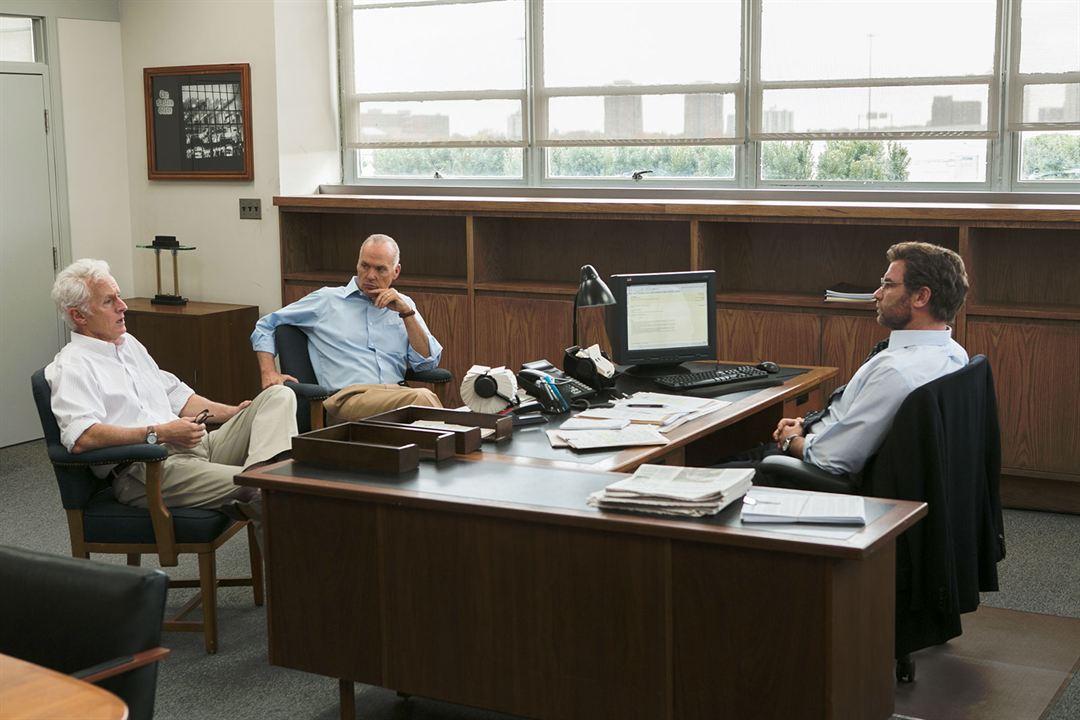 Spotlight : Photo John Slattery, Liev Schreiber, Michael Keaton