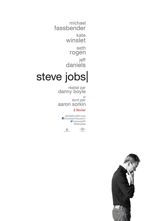 affiche du film steve jobs affiche 1 sur 1 allocin. Black Bedroom Furniture Sets. Home Design Ideas