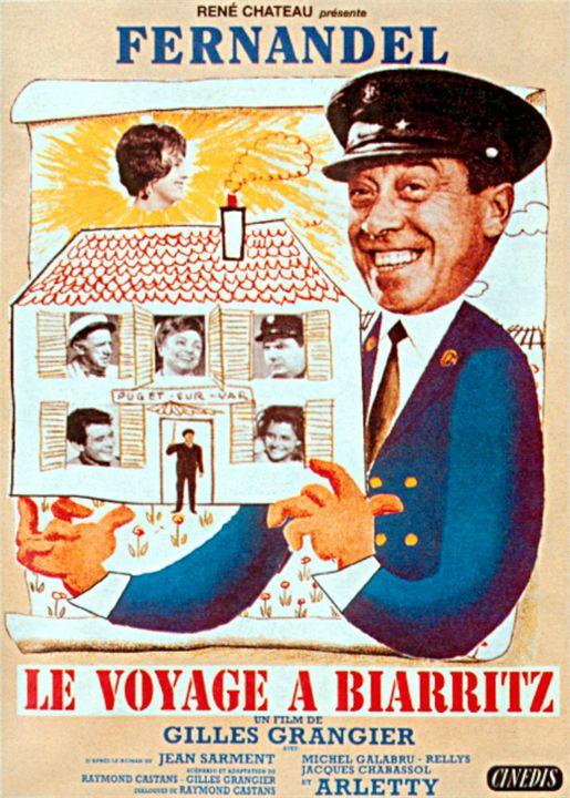 Le Voyage à Biarritz : Affiche